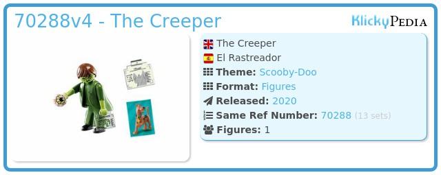 Playmobil 70288v4 - The Creeper