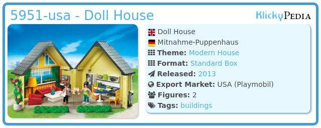 Playmobil 5951-usa - Doll House
