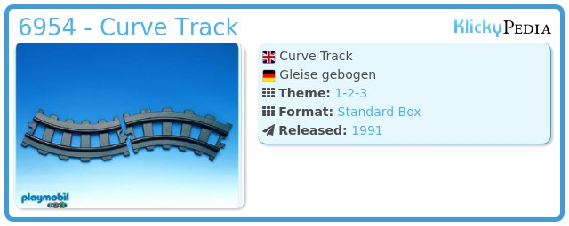 Playmobil 6954 - Curve Track