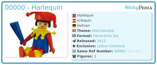 Playmobil 00000 - Harlequin