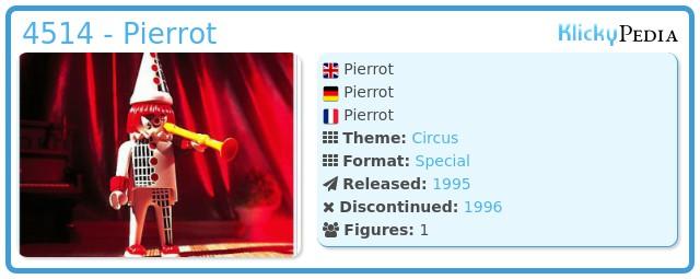 Playmobil 4514 - Pierrot
