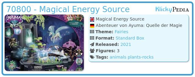 Playmobil 70800 - Adventures of Ayuma: Magical Energy Source