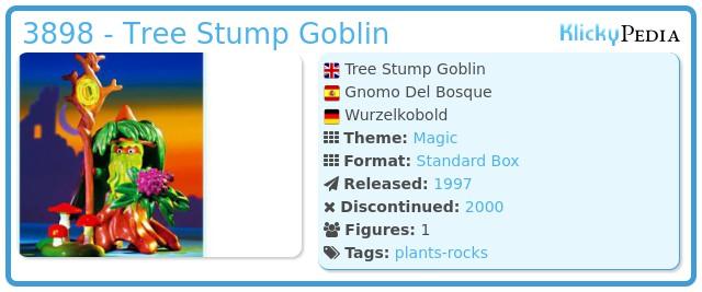 Playmobil 3898 - Tree Stump Goblin
