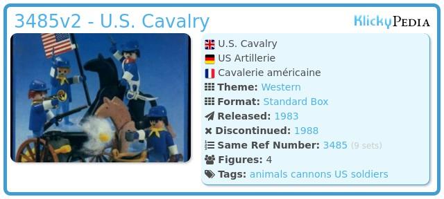 Playmobil 3485v2 - U.S. Cavalry