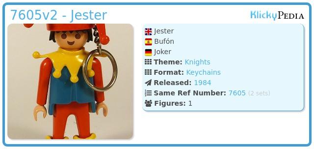 Playmobil 7605v2 - Jester
