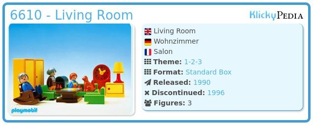 Playmobil 6610 - Living Room