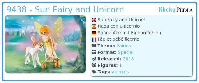 Playmobil 9438 - Sun Fairy and Unicorn