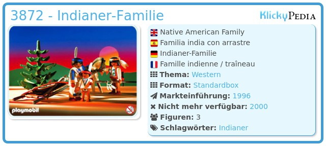 Playmobil 3872 - Indianer-Familie