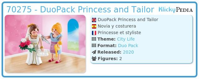 Playmobil 70275 - Bride and dressmaker