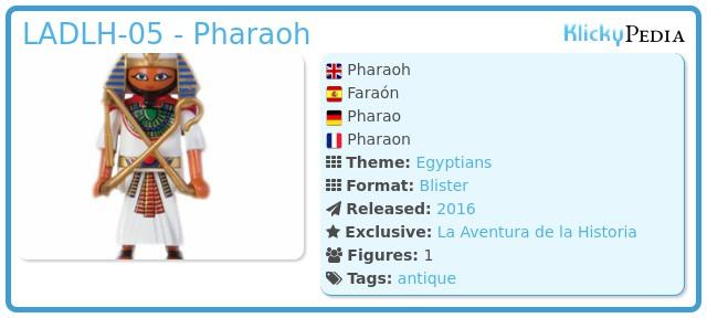 Playmobil LADLH-05 - Pharaoh