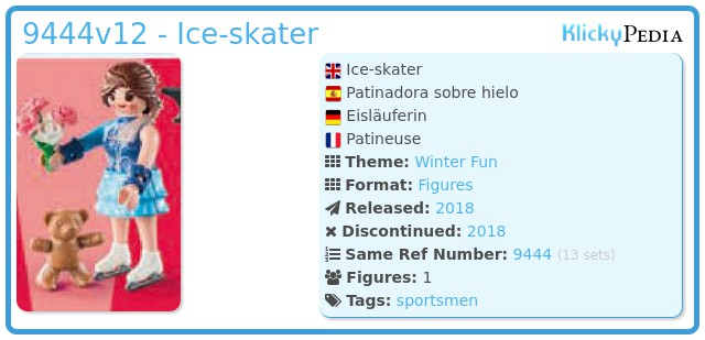 Playmobil 9444v12 - Ice-skater