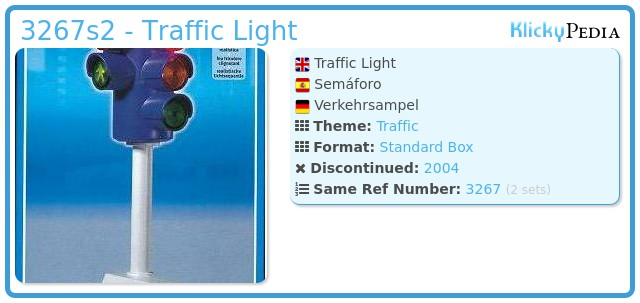 Playmobil 3267s2 - Traffic Light