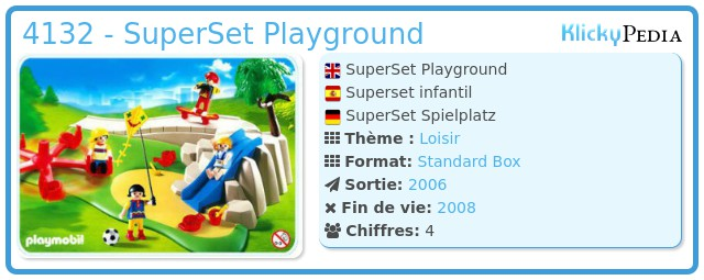 Playmobil 4132 - SuperSet Playground