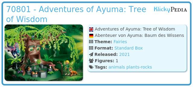 Playmobil 70801 - Adventures of Ayuma: Tree of Wisdom