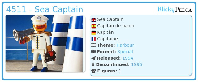 Playmobil 4511 - Sea Captain