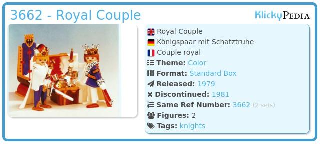 Playmobil 3662 - Royal Couple