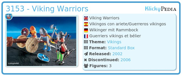 Playmobil 3153 - Viking Warriors