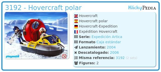 Playmobil 3192 - Hovercraft polar