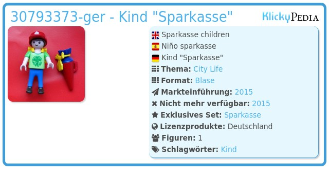 Playmobil 30793373-ger - Kind