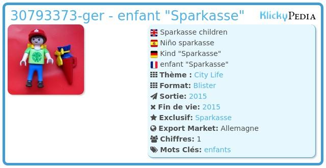 Playmobil 30793373-ger - Sparkasse children