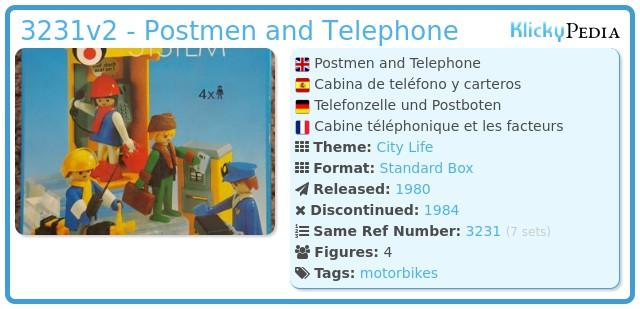 Playmobil 3231v2 - Post office