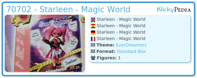 Playmobil 70702 - Starleen - Magic World