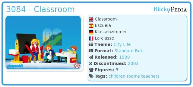 Playmobil 3084 - Classroom