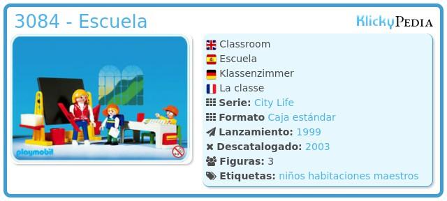 Playmobil 3084 - Escuela