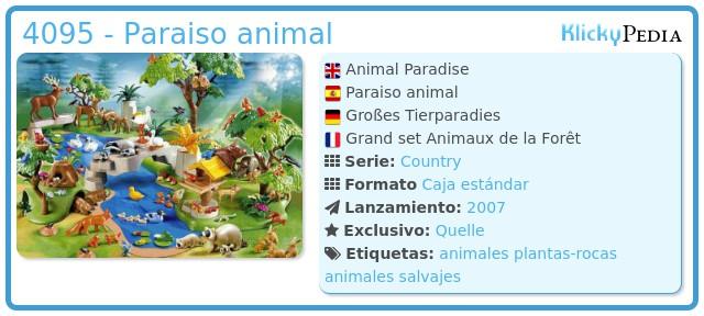 Playmobil 4095 - Animal Paradise