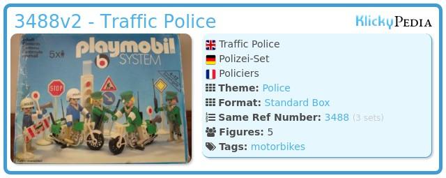 Playmobil 3488v2 - Policemen