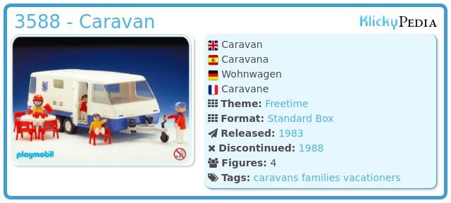 Playmobil 3588 - Caravan