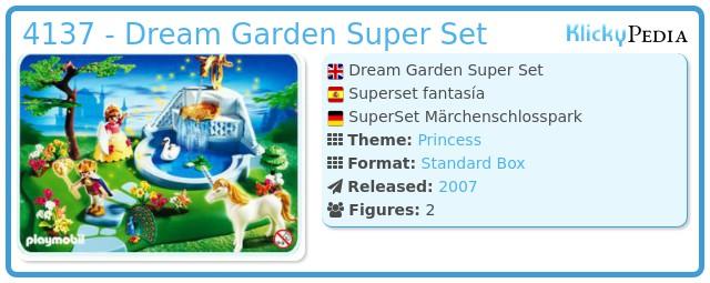 Playmobil 4137 - Dream Garden Super Set