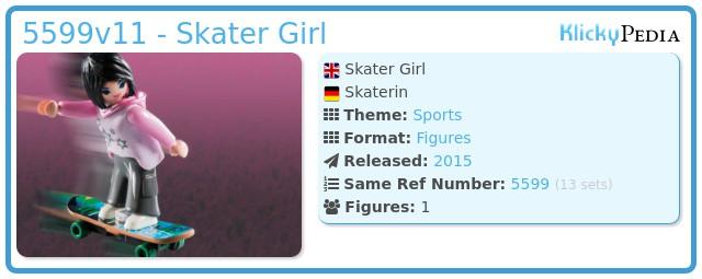 Playmobil 5599v11 - Skater Girl