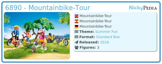 PLAYMOBIL 6890 Mountainbike Tour Drei Sportliche Fahrräder Schlafsäcke Playmobil