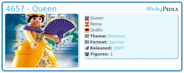 Playmobil 4657 - Queen