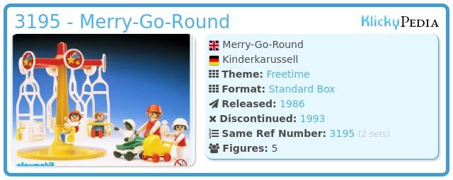 Playmobil 3195 - Merry-Go-Round