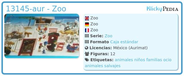 Playmobil 13145-aur - Zoo