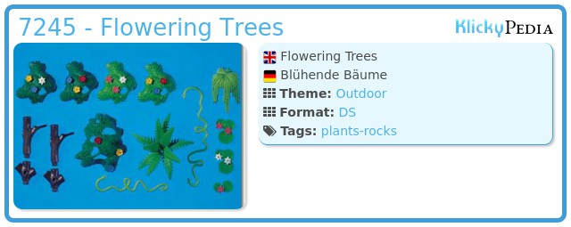 Playmobil 7245 - Flowering Trees