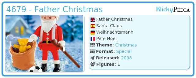 Playmobil 4679 - Father Christmas