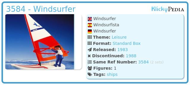 Playmobil 3584 - Windsurfer