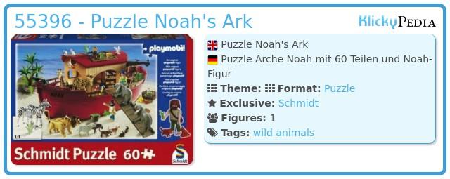 Playmobil 55396 - Puzzle Noah's Ark