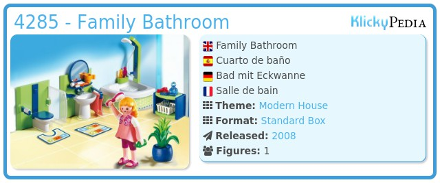 Playmobil 4285 - Family Bathroom