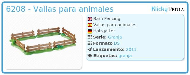 Playmobil 6208 - Vallas para animales