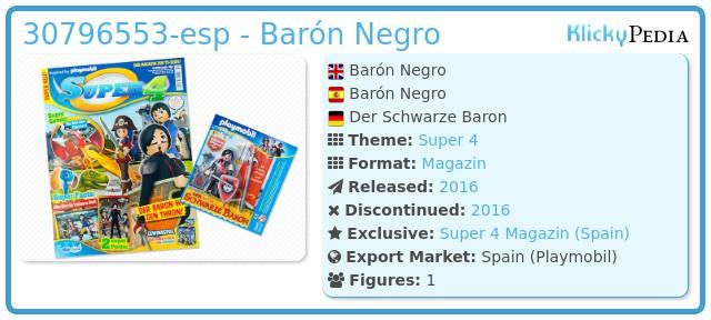 Playmobil 30796553-esp - Barón Negro