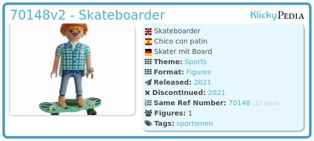 Playmobil 70148v2 - Skater