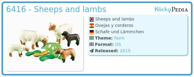 Playmobil 6416 - Sheeps and lambs