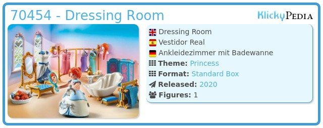 Playmobil 70454 - Dressing Room