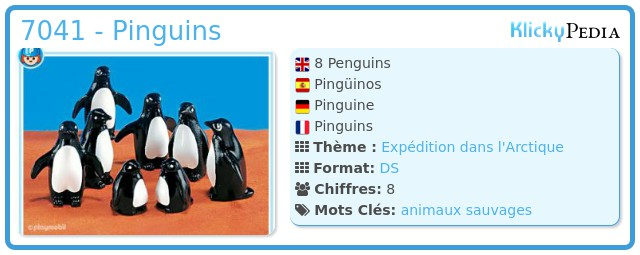 Playmobil 7041 - Pinguins