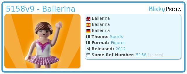 Playmobil 5158v9 - Ballerina