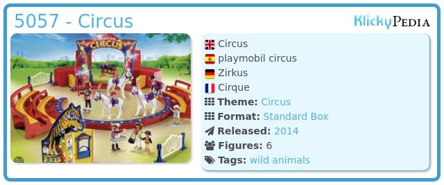 Playmobil 5057 - Circus
